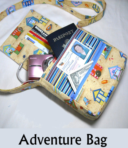 Adventure Bag By Sid's in Stitches