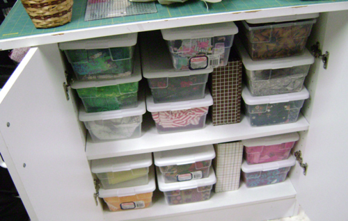 Some of Sid's Fabric Stash