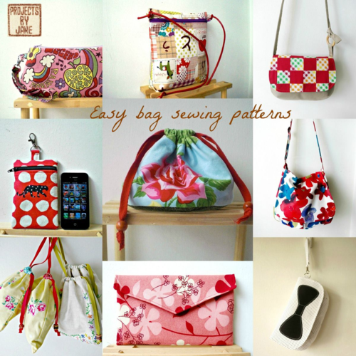 Projects By Jane - PDF Bag sewing Patterns!