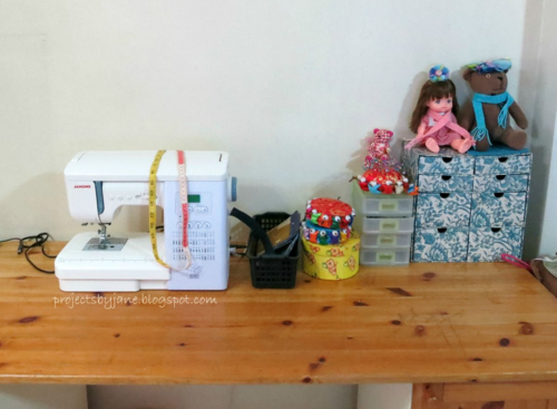 Jane's Sewing Space!