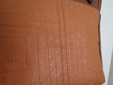 Closeup of Maria's Uptown Bag