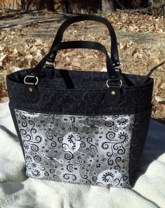Another front view of Rachel's bag!