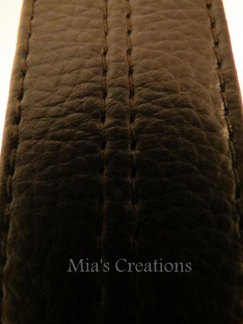 1st bag made with my new Zoje - Maria of Mia Creates