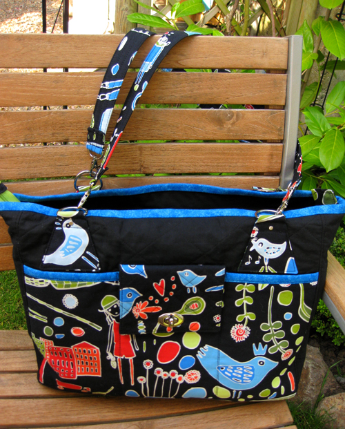 Liz of Moments made this Stow It All Tote