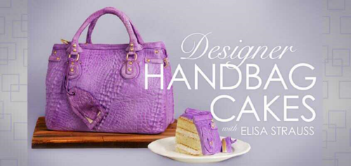 Designer Handbag Cakes Craftsy Class