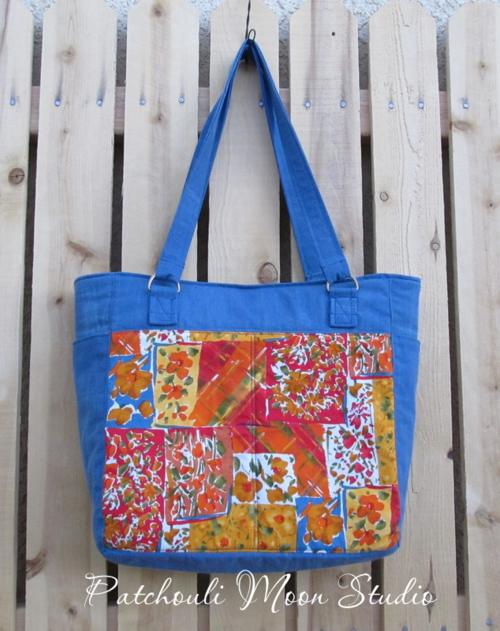 Daryl's Uptown Girl - A chrisW Designs PDF Bag pattern