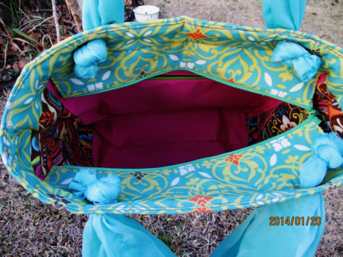 Trish's Interior - Uptown Girl, a PDF sewing pattern by ChrisW Designs
