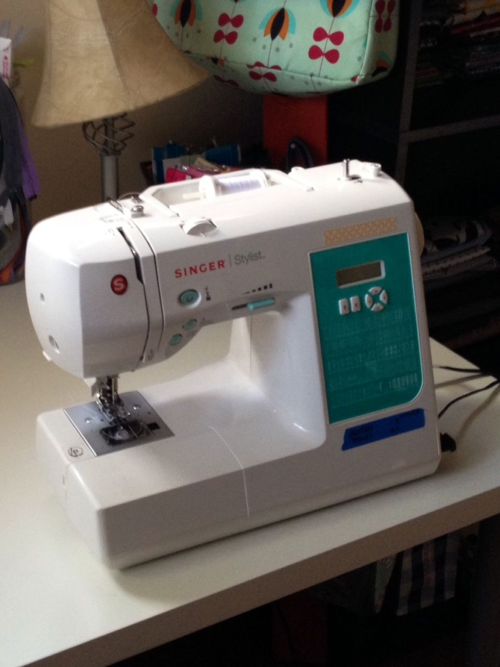 Cyndi's Singer Stylist 7258 Sewing Machine