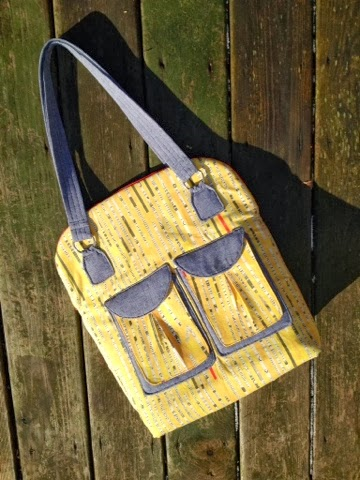 Cyndi's version of the January Bag of the Month Club bag.