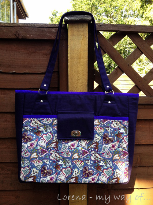 The Stow It All Tote by Lorena Rey