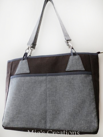 Back view of the Stow It All Tote!