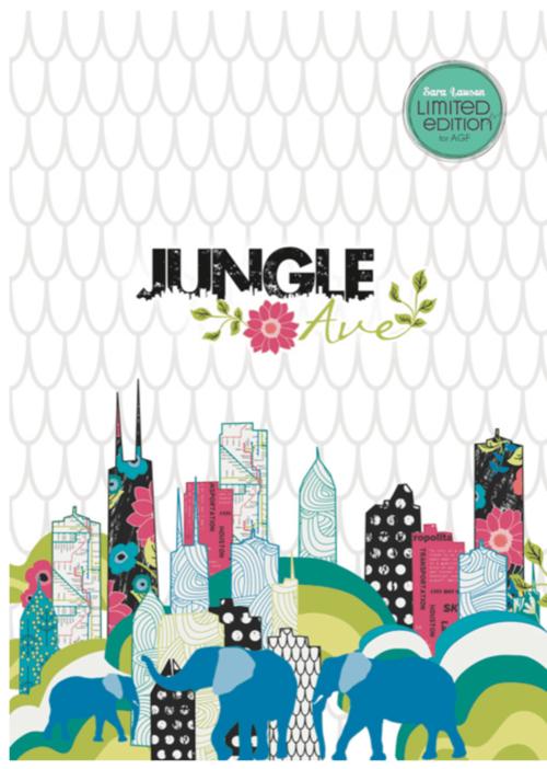 Jungle Ave fabrics