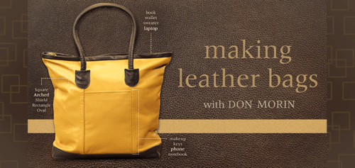 Making Leather Bags Craftsy Class