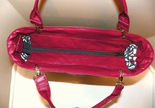 Marilyn's Uptown Girl Bag Recessed Zipper