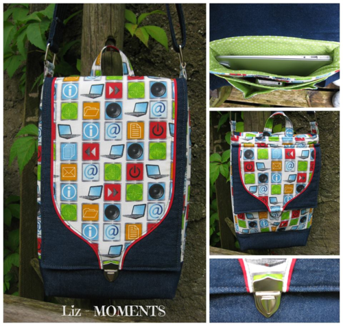 Liz's of moments - Gizmo Garage - a PDF sewing pattern