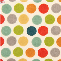 Colorful-polka-dots-organic-knit-fabric-birch-USA