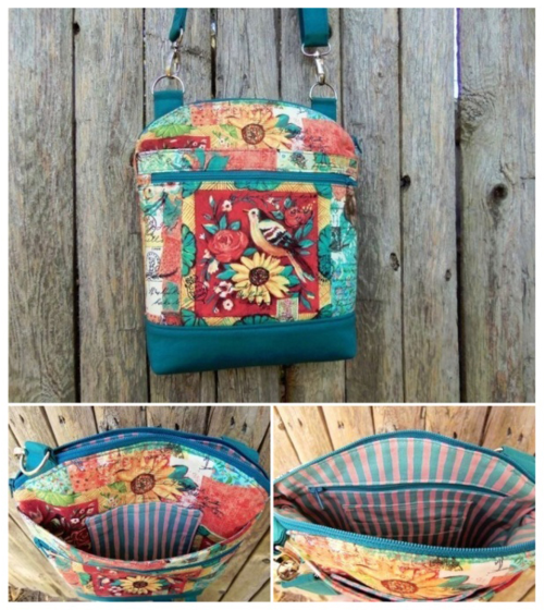 Krista's Serendipity Hip - A ChrisW Designs PDF bag sewing pattern!