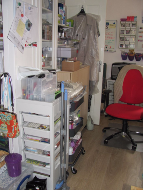 Elaine's Sewing Space