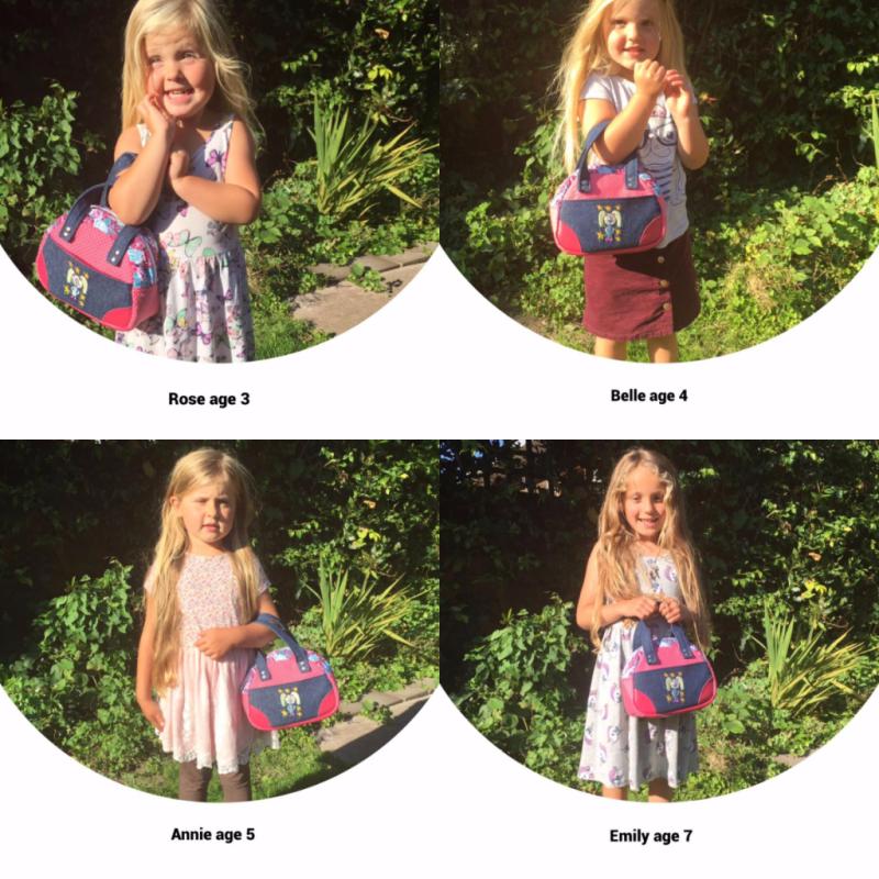 Lisa's Small Bodacious Bowler Bag