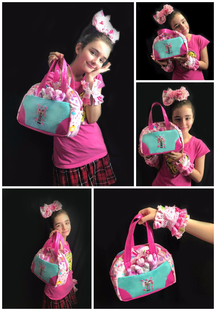 Natalia's Medium Bodacious Bowler Bag