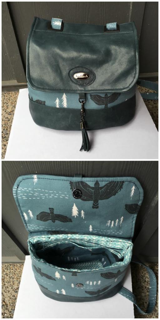 Pat's Podium Collage - A ChrisW Designs PDF Bag Sewing Pattern