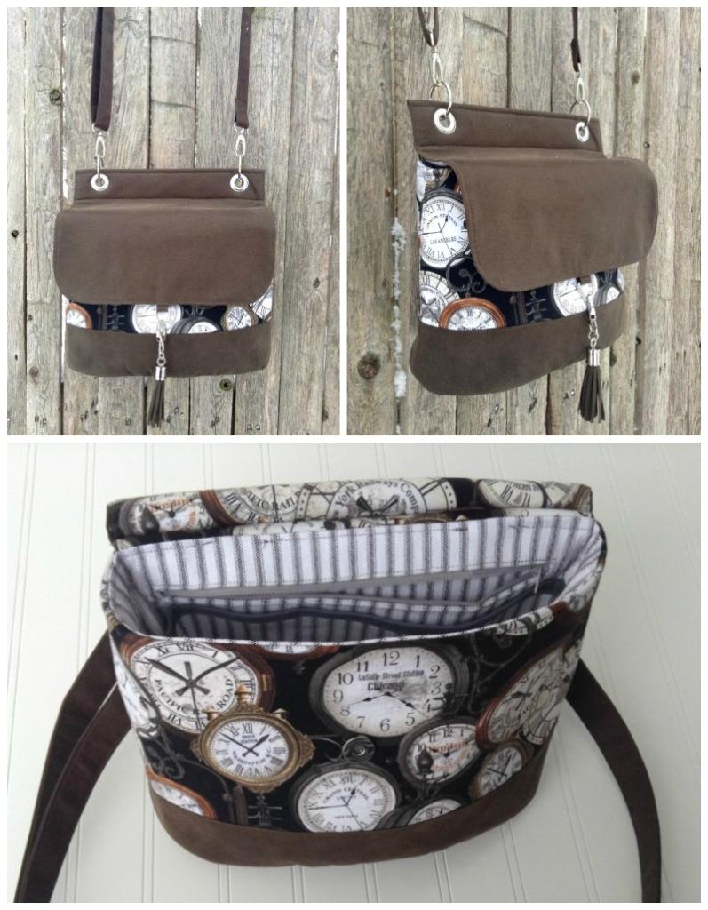 Krista's Podium Collage - A ChrisW Designs PDF Bag Sewing Pattern