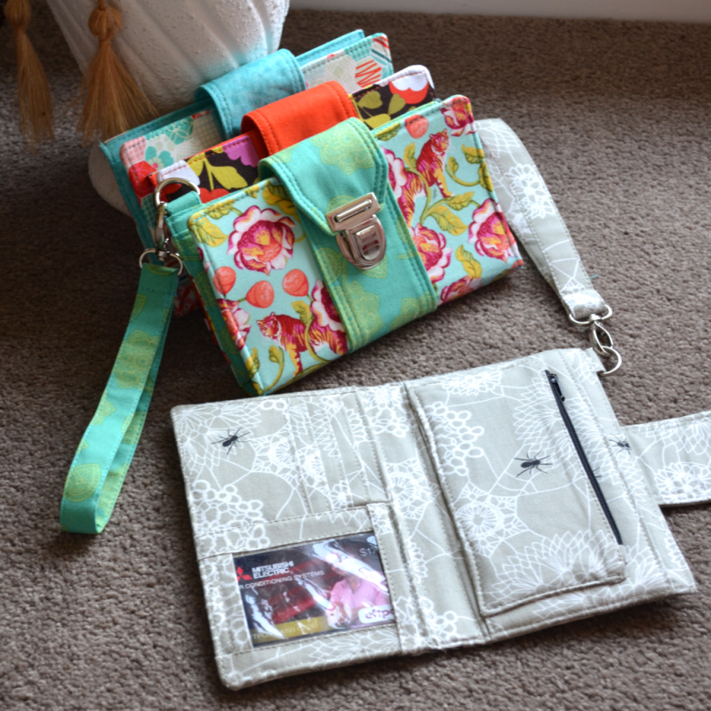Brandt's Boulevard Easy Street Wallet Sewing Pattern!