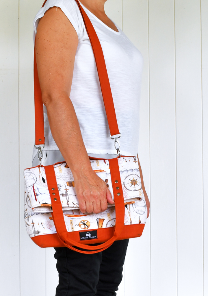 Gabbie's Grove. An ChrisW Designs Easy Street Bag Sewing Pattern