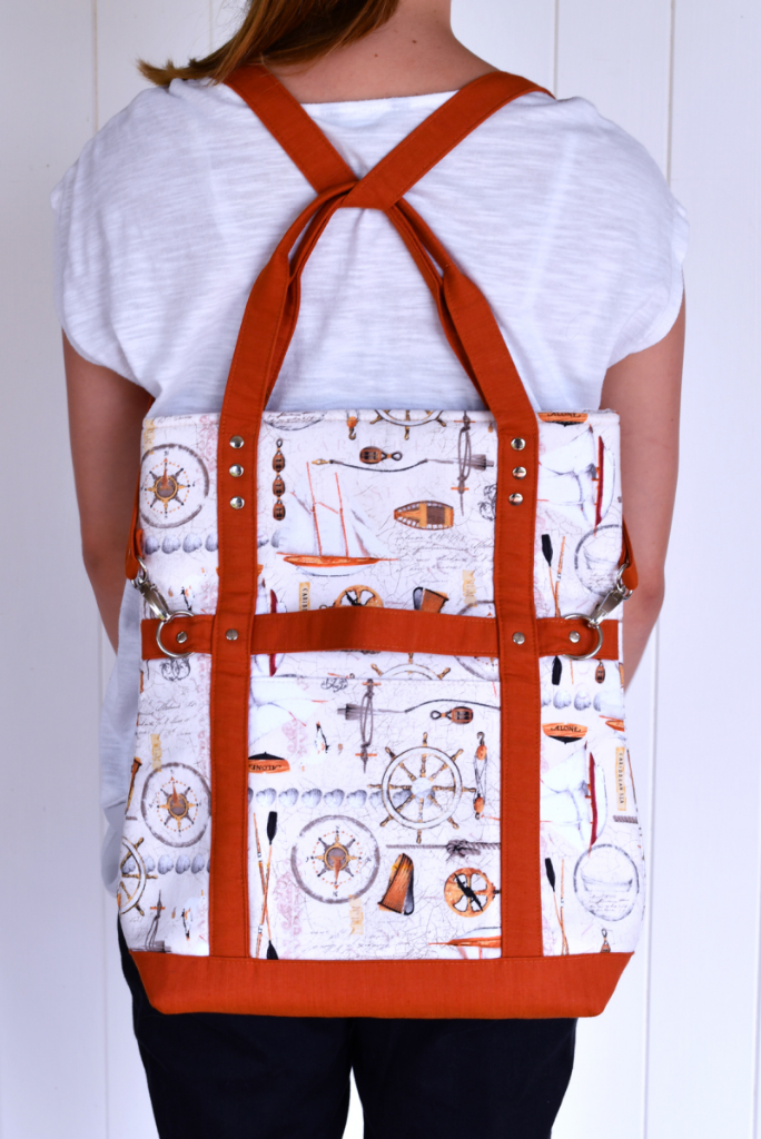Gabbie's Grove - A ChrisW Designs Easy Street Bag Sewing Pattern