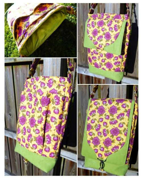 Stephanie's version of the Gizmo Garage - A PDF Bag sewing pattern by ChrisW Designs