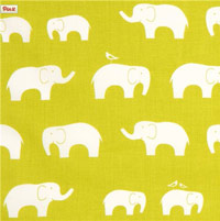 Light-green-birch-organic-fabric-with-white-elephants