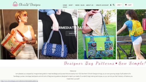 ChrisW Designs new website!