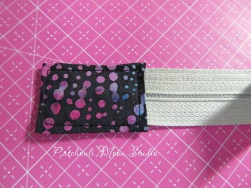 Fabric Zipper Tab