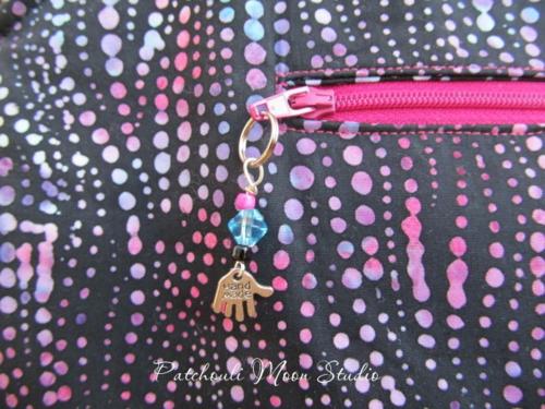 Daryl's cute zipper pull!