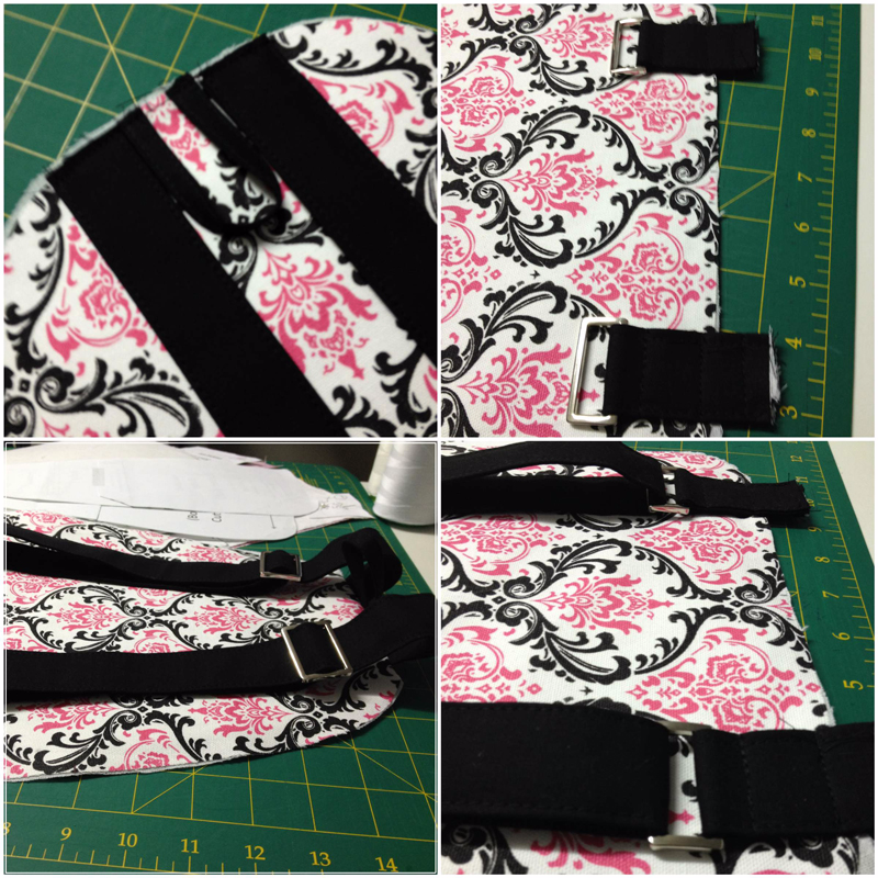 The Amy Backpack sew Along - Pics 5,6,7 & 8