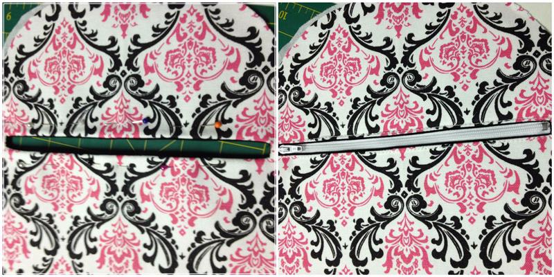 TThe Amy Backpack Sew Along - Pics 9 & 10
