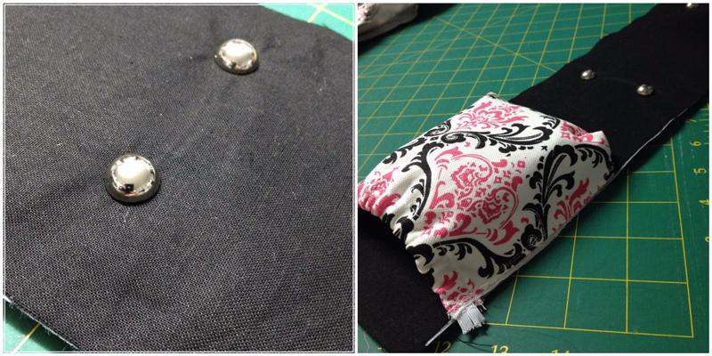 Pics 19 & 20 - Amy backpack Sew Along