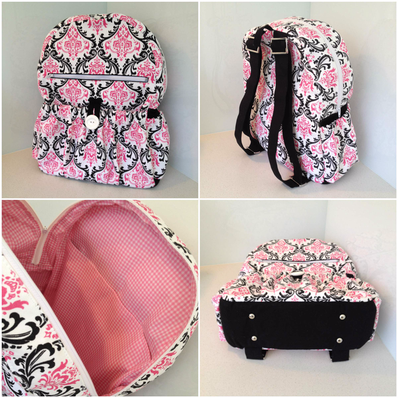 Finished Amy Backpack! :)