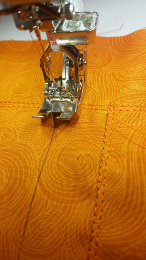 Top-stitching 5