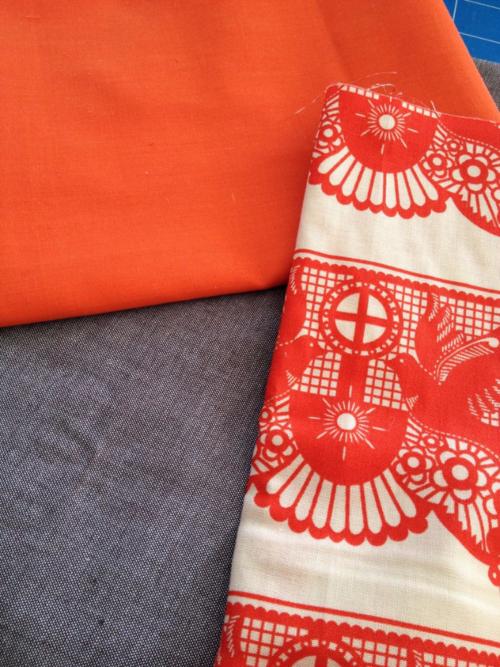 Ellen's Fabric choices