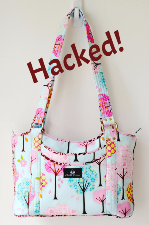 The Sugar & Spice handbag pattern by ChrisW Designs