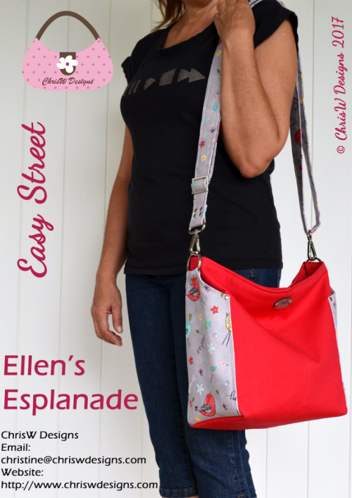 Ellen's Esplanade - A ChrisW Designs Easy Street Sew & Sell Bag Pattern