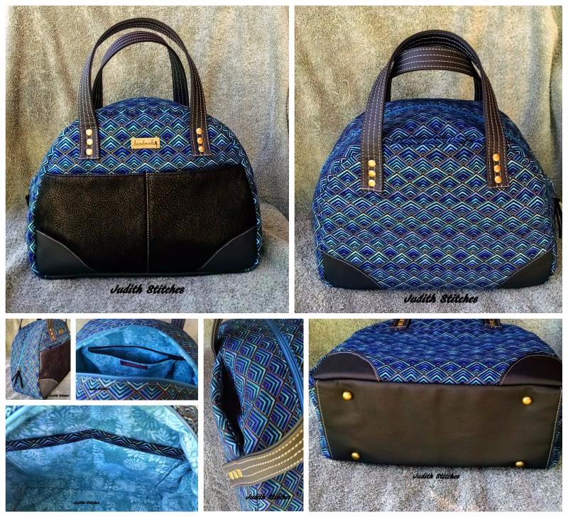 Judith's Large Bodacious Bowler Bag