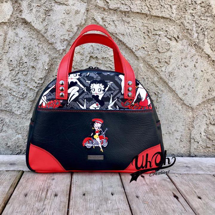 Tara's Large Bodacious Bowler Bag
