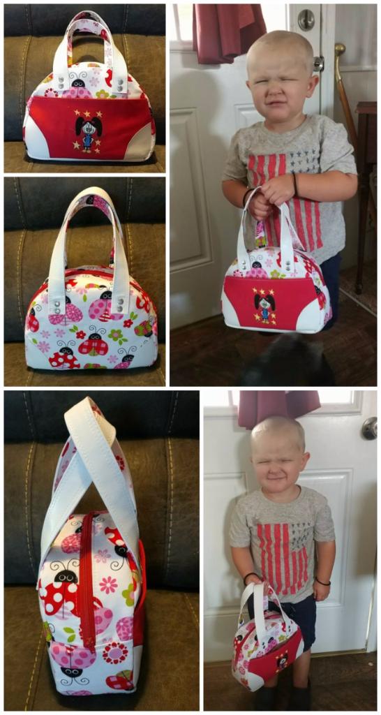 Heather's Small Bodacious Bowler Bag