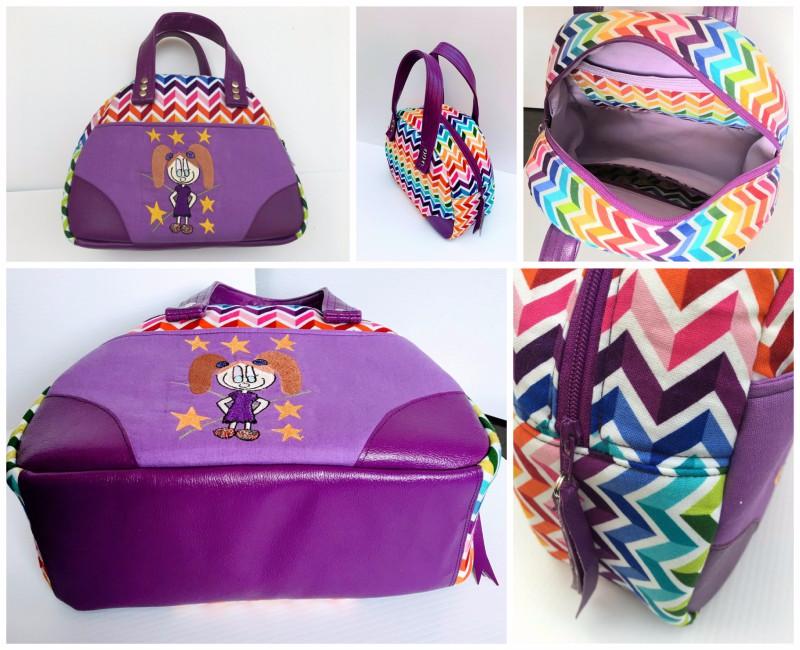 Sheila's Medium Bodacious Bowler Bag