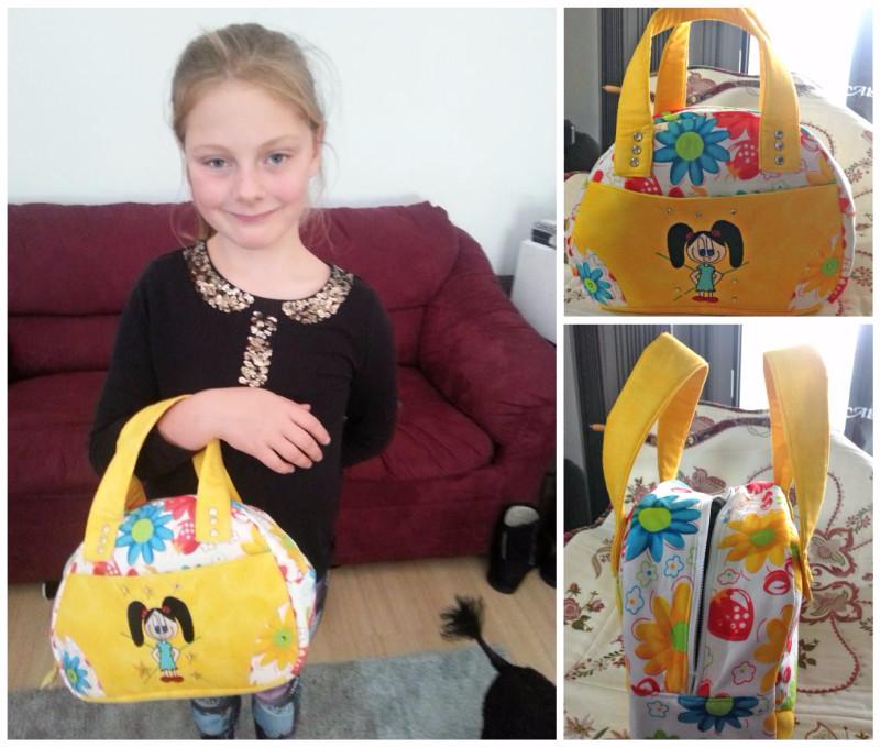 Sheryl's Medium Bodacious Bowler Bag