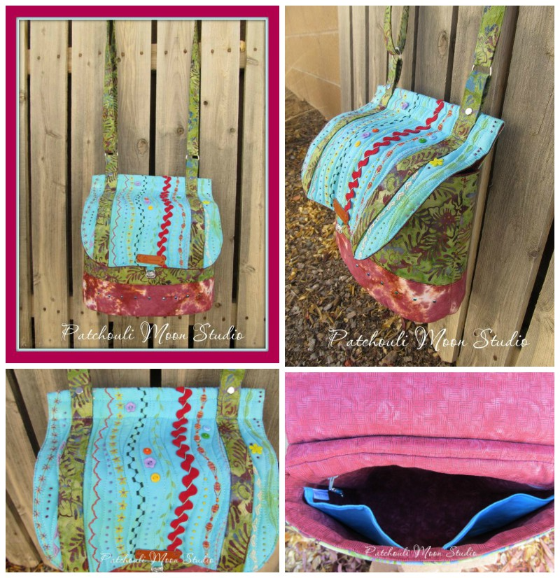 Daryl's Podium Collage - A Bag sewing pattern by ChrisW Designs