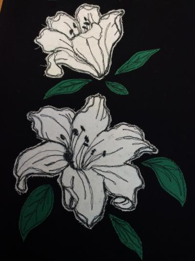 Lillies by Karen