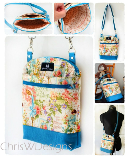 Collage of the Serendipity Hip - a PDF sewing pattern by ChrisW Designs